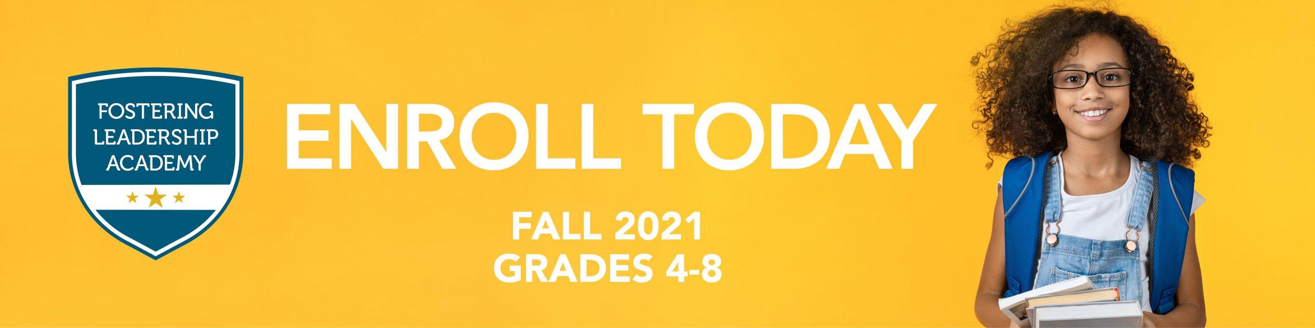 FLA 2021 Website Enrollment page banner