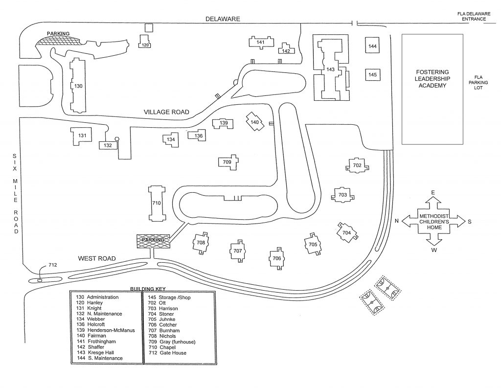 MCHS Campus Map